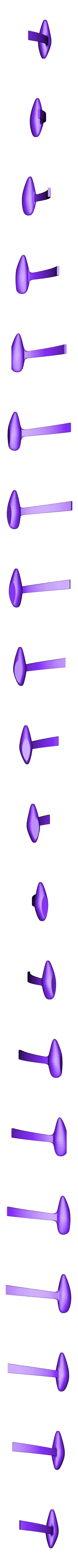 tren_der.stl Download STL file Rutan Long EZ • 3D print design, Nico_3D