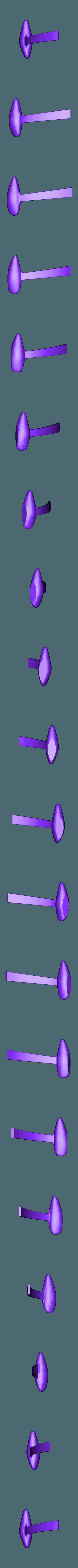 tren_Izq.stl Download STL file Rutan Long EZ • 3D print design, Nico_3D