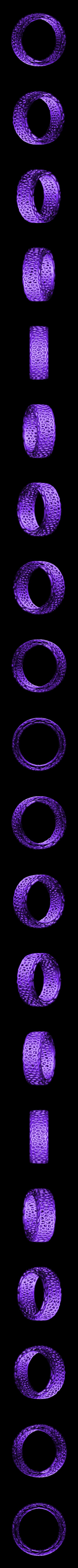bracelet voro small.stl Download free STL file Bracelet Voro • 3D printer object, SamVoro