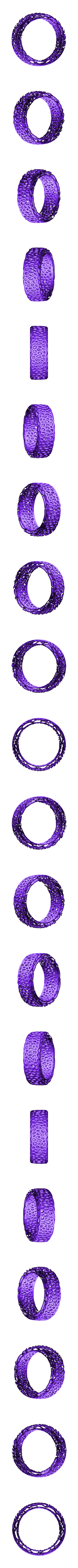 bracelet voro big.stl Download free STL file Bracelet Voro • 3D printer object, SamVoro