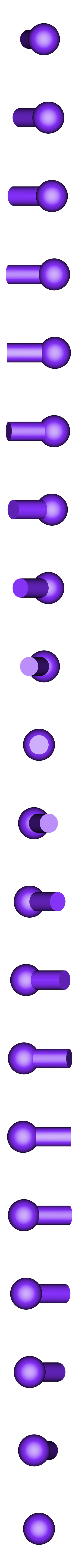 Ball Joint-Small_2X.STL Download STL file Grimlock • Model to 3D print, biglildesign