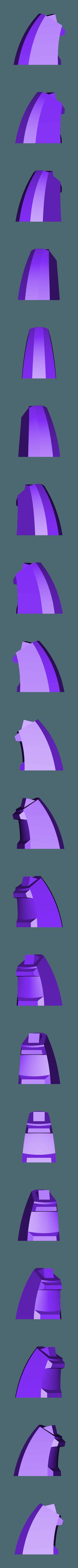 Tail-Upper.STL Download STL file Grimlock • Model to 3D print, biglildesign