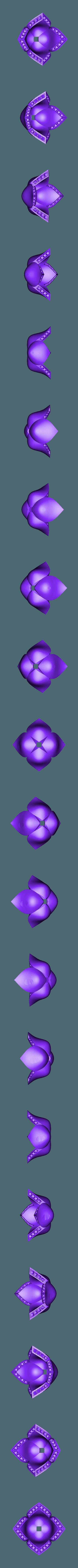 grosse tulipe ok.stl Download STL file tulip ring • 3D printing model, ToneRjewelery