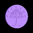 CoinGondor2.stl Download free STL file Coins of Middle-Earth • 3D printer model, plokr