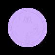 CoinLothorien2.stl Download free STL file Coins of Middle-Earth • 3D printer model, plokr