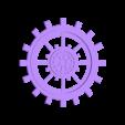 grand engrenage.stl Download STL file gear decoration • 3D printer template, catf3d