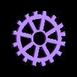petit engrenage.stl Download STL file gear decoration • 3D printer template, catf3d