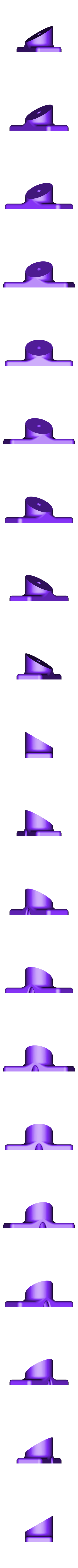 spool_holder_base_xl.stl Download free STL file Spool holder for 2020 Extrusions (Deltas) • Model to 3D print, AlkinsDesigns