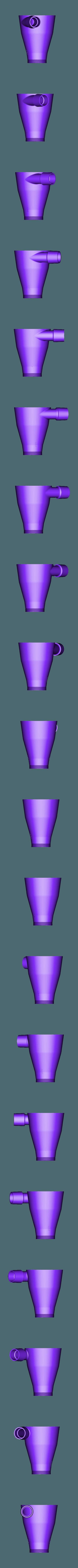 20cm.stl Download STL file 48 Head Multi Cyclone Chamber (Compact Size Added) • 3D printer model, kanadali