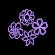 P22-25.stl Télécharger fichier STL Collier à motif de fleurs • Design imprimable en 3D, solunkejagruti