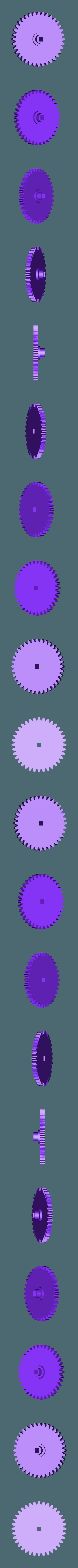 Gear_Axle.stl Download free STL file Impatience, Motorized • 3D printer object, gzumwalt