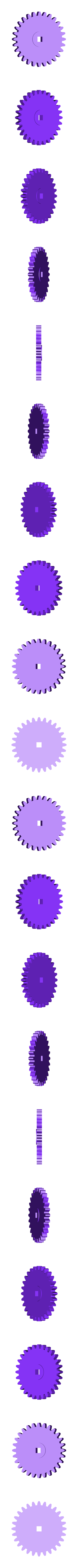 Gear_Idler.stl Download free STL file Perseverance • 3D printer template, gzumwalt