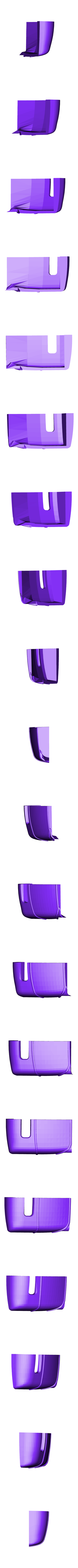 hotrod flanc 6.stl Download STL file Fury road hotrod bodyshell 1/10 • 3D printing design, RCGANG93