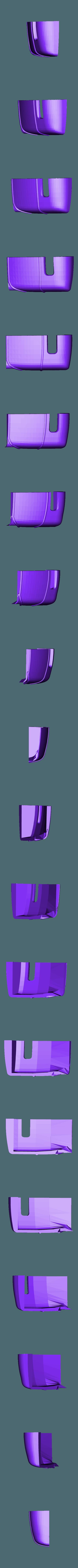 hotrod flanc  4.stl Download STL file Fury road hotrod bodyshell 1/10 • 3D printing design, RCGANG93