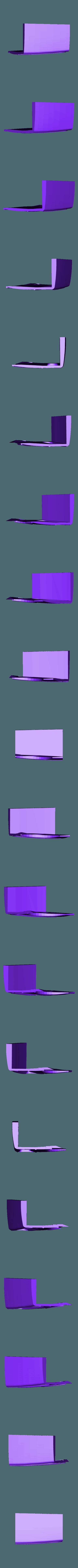hotrod flanc 5.stl Download STL file Fury road hotrod bodyshell 1/10 • 3D printing design, RCGANG93