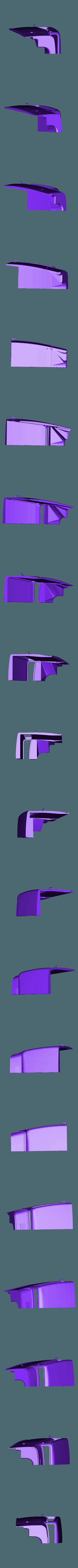hotrod flanc 2.stl Download STL file Fury road hotrod bodyshell 1/10 • 3D printing design, RCGANG93
