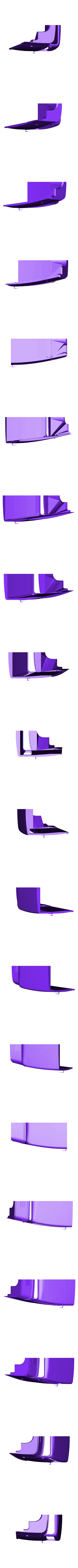 hotrod flanc 1.stl Download STL file Fury road hotrod bodyshell 1/10 • 3D printing design, RCGANG93