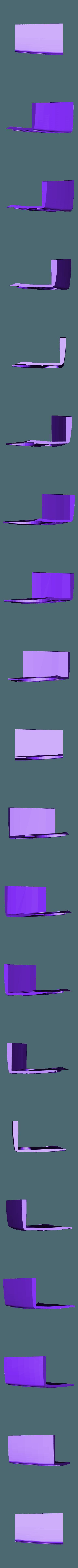 hotrod flanc  3.stl Download STL file Fury road hotrod bodyshell 1/10 • 3D printing design, RCGANG93