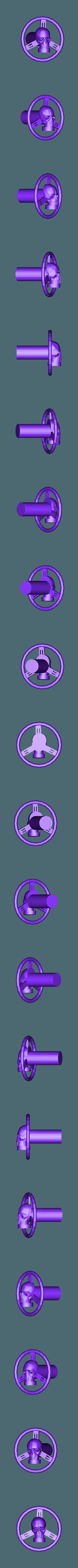 volent.stl Download STL file Fury road hotrod bodyshell 1/10 • 3D printing design, RCGANG93