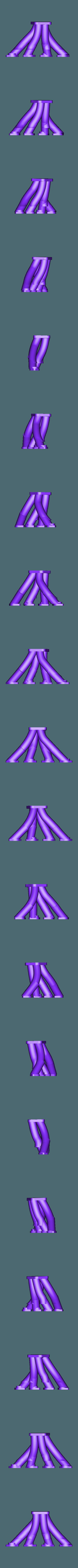 collecteur court turbo gauche .stl Download STL file Fury road hotrod bodyshell 1/10 • 3D printing design, RCGANG93