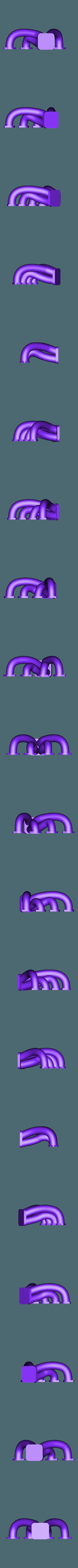 Manifold.STL Download STL file Fury road hotrod bodyshell 1/10 • 3D printing design, RCGANG93