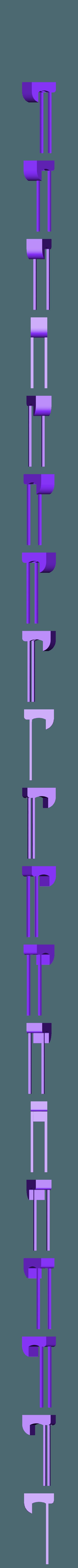 Phone Camera Holder Top.stl Download free STL file Adjustable Tripod (FULLY 3D PRINTED) • 3D printing design, samsuchin