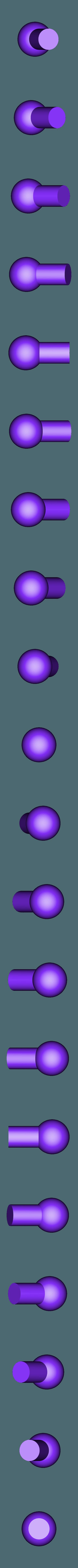 Ball Joint-Small_2X v2.STL Download STL file Grimlock • Model to 3D print, biglildesign