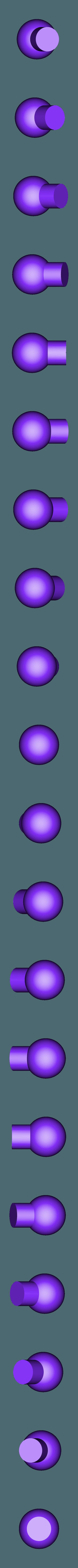 Ball Joint-Large_2X v2.STL Download STL file Grimlock • Model to 3D print, biglildesign