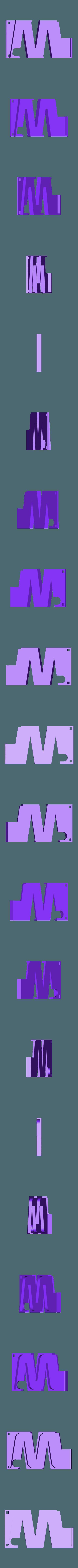 """Track_Zigzag_New.stl Download free STL file Marblevator """"Mini"""", Zigzag Edition Track • 3D print design, gzumwalt"""