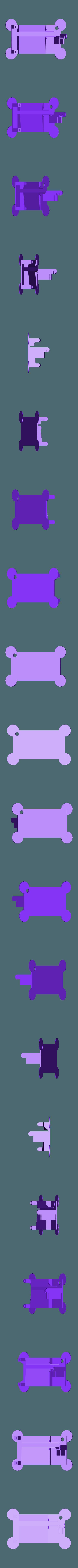 "Track_Base.stl Download free STL file Marblevator ""Mini"", Zigzag Edition Track • 3D print design, gzumwalt"