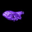 LouvrePsycheRevivedByCupid(R).stl Télécharger fichier STL gratuit Psyche Revived by Cupid's Kiss au Louvre, Paris (remix) • Plan pour imprimante 3D, 3DLadnik