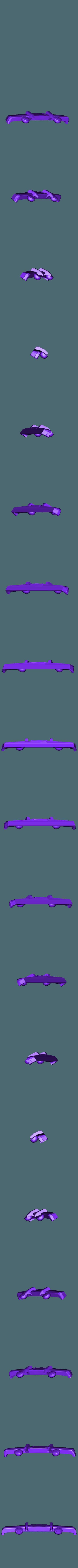 bomper d.stl Download STL file gmc sierra truck • Template to 3D print, 3Diego