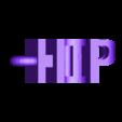 Hip Hop.stl Download free STL file Text Flip, Hip Hop • 3D print model, mr_printer_bot