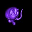 Rat-bite.stl Download free STL file The rat-bite by JMS • 3D print template, Jean-Michel_Sinep