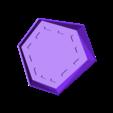 Topf6_2_untersetzer.stl Download free STL file poly pot • 3D printable model, unwohlpol