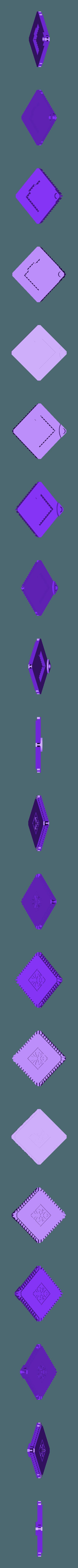 Pi_Omen_lid.stl Download free STL file Raspberry Pi 3 OMEN Accelerator Case • 3D printable object, Chaco