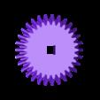 Gear_Main.stl Télécharger fichier STL gratuit Coeur à engrenages, édition manivelle à main • Design pour impression 3D, gzumwalt