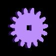 Gear_Axle.stl Download free STL file Animated Snowman • Template to 3D print, gzumwalt