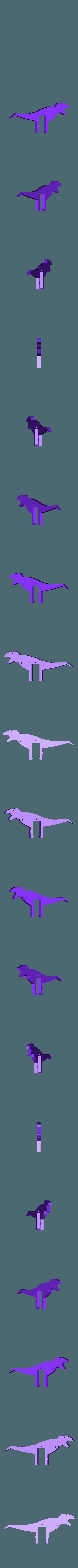 Body.stl Download free STL file T-Rex Windup Walker • 3D printer model, gzumwalt