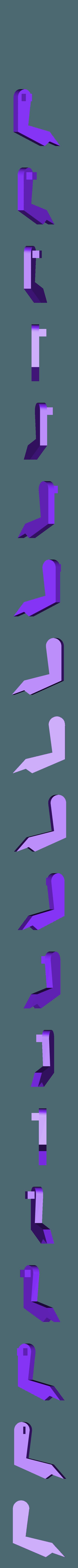 Arm_Left.stl Download free STL file T-Rex Windup Walker • 3D printer model, gzumwalt