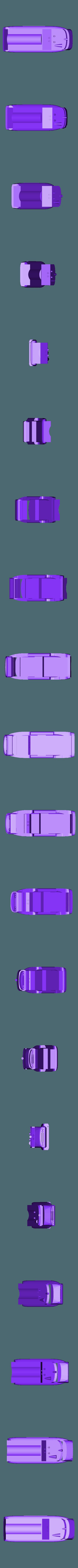 scarlet tanker 2.stl Download STL file captain scarlet tanker thunderbirds • 3D printer model, platt980