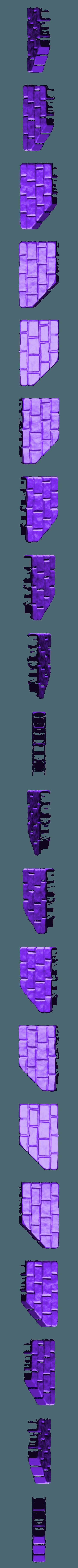 miniwall1.stl Download free STL file Fantasy city set • 3D printable model, HeribertoValle