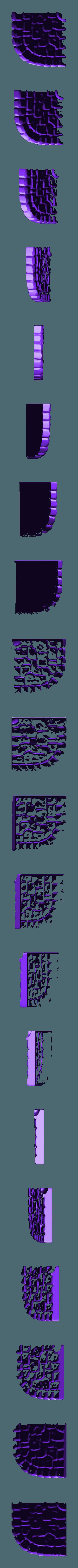streetcorner_drain.stl Download free STL file Fantasy city set • 3D printable model, HeribertoValle