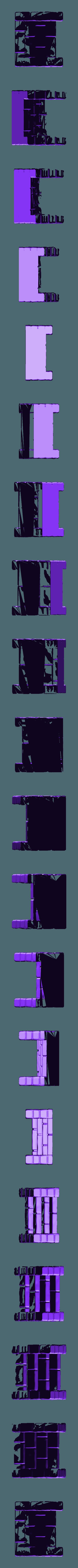 stairsmall2.stl Download free STL file Fantasy city set • 3D printable model, HeribertoValle