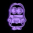minion_cut_cookie.stl Download STL file Cut cookie minion • 3D printable design, Blop3D