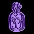 cutgallo.stl Download STL file Cut Cookie Granja de Zenon Gallo • 3D print object, Blop3D
