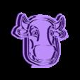 cutvaca.stl Download STL file Cut Cookie Granja de Zenon Vaca • Object to 3D print, Blop3D