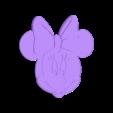 minnie-2.stl Download free STL file Minnie-Disney • 3D printable template, ericthegringe