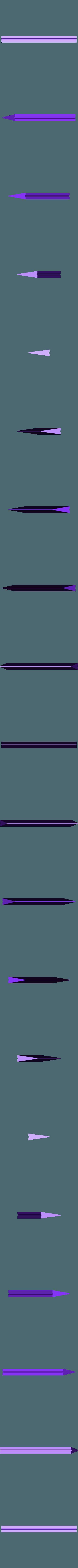 300x300x350 - Silver - Blade - Part 3.stl Download STL file Final Fantasy VII - Buster Sword - Bracelet - Shoulder pad  • 3D print model, 3Dutchie