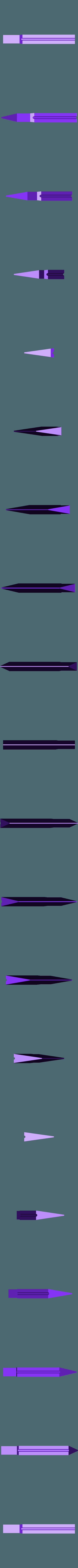 300x300x350 - Silver - Blade - Part 5.stl Download STL file Final Fantasy VII - Buster Sword - Bracelet - Shoulder pad  • 3D print model, 3Dutchie